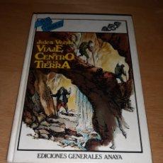 Libros de segunda mano: VIAJE AL CENTRO DE LA TIERRA. JULIO VERNE. TUS LIBROS. ANAYA. Lote 206963138