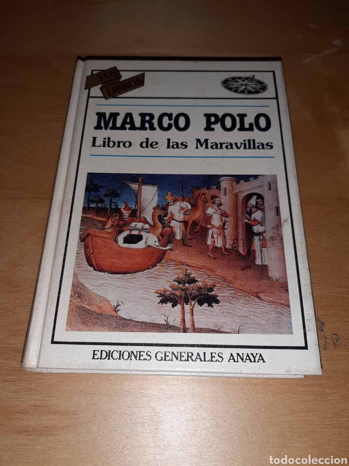 MARCO POLO LIBRO DE LAS MARAVILLAS. TUS LIBROS. ANAYA. VER FOTOS Y DESCRIPCIÓN (Libros de Segunda Mano - Literatura Infantil y Juvenil - Otros)