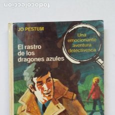 Libros de segunda mano: EL RASTRO DE LOS DRAGONES AZULES. JO PESTUM. LIBRO MAE. TDK199. Lote 206971461