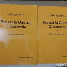 Libros de segunda mano: PENSAR EN LA GUERRA , CLAUSEWITZ ( RAYMOND ARON ). Lote 207036756