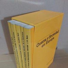 Libros de segunda mano: GUERRA Y SOCIEDAD EN EUROPA ( 5 TOMOS ). Lote 207037400