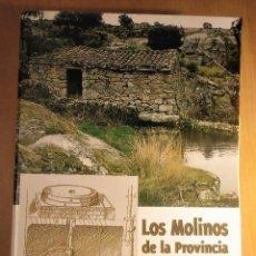 Libros de segunda mano: LOS MOLINOS DE LA PROVINCIA DE ZAMORA, J. J. PEDRERO, DEDICADO POR EL AUTOR, 2000. Lote 207039507