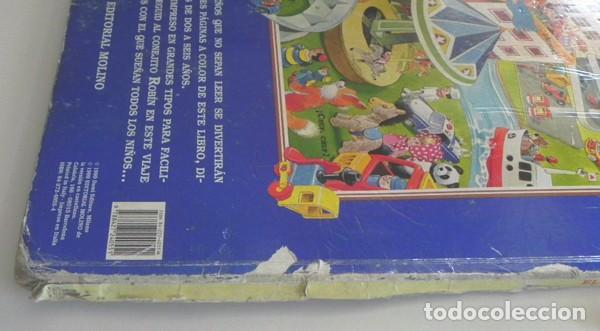 Libros de segunda mano: EL PAÍS DE LOS JUGUETES LIBRO INFANTIL - TONY WOLF - GRAN TAMAÑO - PRECIOSAS ILUSTRACIONES - MOLINO - Foto 8 - 207104565