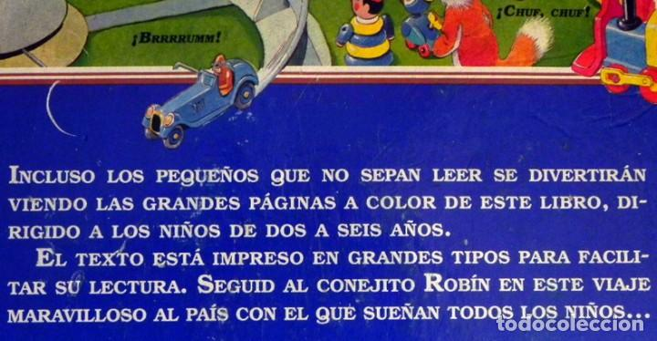 Libros de segunda mano: EL PAÍS DE LOS JUGUETES LIBRO INFANTIL - TONY WOLF - GRAN TAMAÑO - PRECIOSAS ILUSTRACIONES - MOLINO - Foto 3 - 207104565