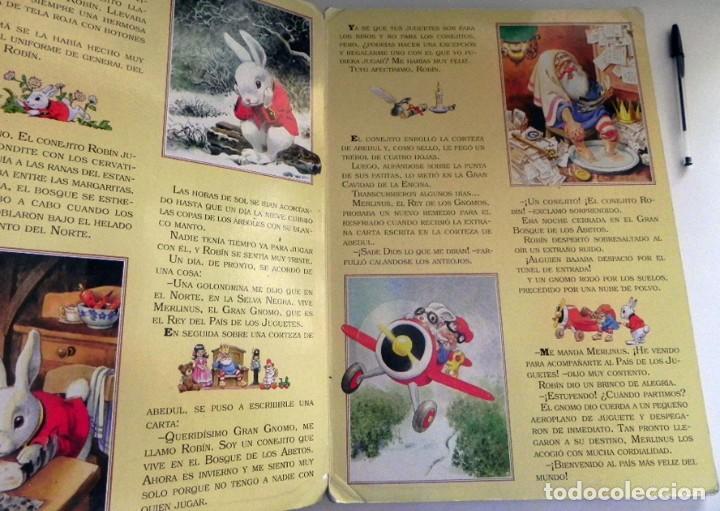 Libros de segunda mano: EL PAÍS DE LOS JUGUETES LIBRO INFANTIL - TONY WOLF - GRAN TAMAÑO - PRECIOSAS ILUSTRACIONES - MOLINO - Foto 4 - 207104565