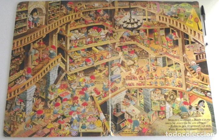 Libros de segunda mano: EL PAÍS DE LOS JUGUETES LIBRO INFANTIL - TONY WOLF - GRAN TAMAÑO - PRECIOSAS ILUSTRACIONES - MOLINO - Foto 7 - 207104565