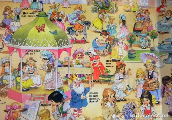 Libros de segunda mano: EL PAÍS DE LOS JUGUETES LIBRO INFANTIL - TONY WOLF - GRAN TAMAÑO - PRECIOSAS ILUSTRACIONES - MOLINO - Foto 6 - 207104565