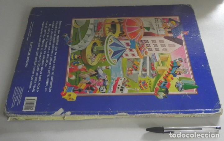 Libros de segunda mano: EL PAÍS DE LOS JUGUETES LIBRO INFANTIL - TONY WOLF - GRAN TAMAÑO - PRECIOSAS ILUSTRACIONES - MOLINO - Foto 9 - 207104565
