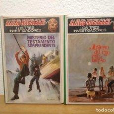 Libros de segunda mano: LOTE LIBROS ALFRED HITCHCOCK. Lote 207117313