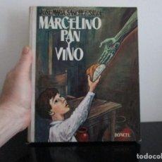 Libros de segunda mano: MARCELINO PAN Y VINO JOSE MARIA SANCHEZ SILVA. Lote 207121400