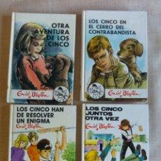 Libros de segunda mano: LOTE 4 LIBROS LOS CINCO. ENYD BYTON. Lote 207122418
