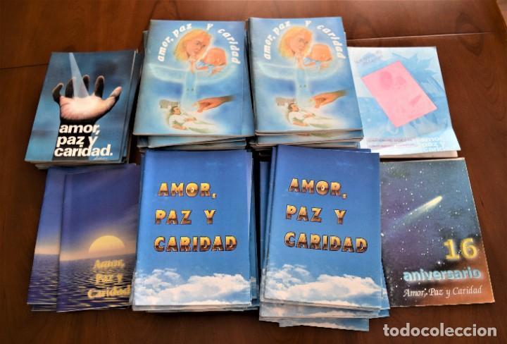 Libros de segunda mano: LOTE 91 BOLETINES AMOR, PAZ Y CARIDAD ASOCIACIÓN PARASICOLÓGICA DE VILLENA (ALICANTE) DE 1989 A 2001 - Foto 2 - 207128316