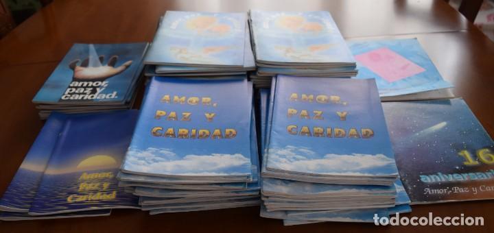 Libros de segunda mano: LOTE 91 BOLETINES AMOR, PAZ Y CARIDAD ASOCIACIÓN PARASICOLÓGICA DE VILLENA (ALICANTE) DE 1989 A 2001 - Foto 3 - 207128316