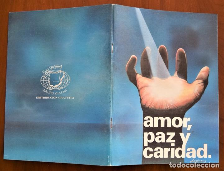 Libros de segunda mano: LOTE 91 BOLETINES AMOR, PAZ Y CARIDAD ASOCIACIÓN PARASICOLÓGICA DE VILLENA (ALICANTE) DE 1989 A 2001 - Foto 4 - 207128316