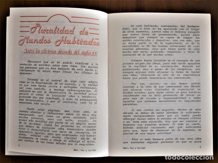 Libros de segunda mano: LOTE 91 BOLETINES AMOR, PAZ Y CARIDAD ASOCIACIÓN PARASICOLÓGICA DE VILLENA (ALICANTE) DE 1989 A 2001 - Foto 6 - 207128316