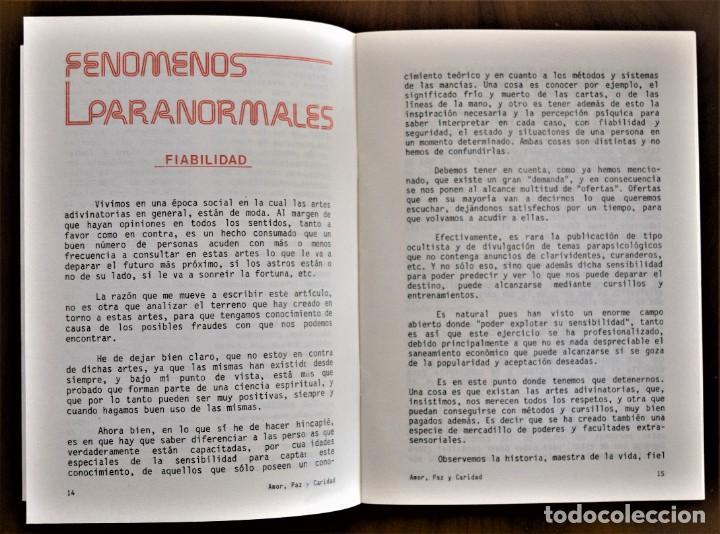 Libros de segunda mano: LOTE 91 BOLETINES AMOR, PAZ Y CARIDAD ASOCIACIÓN PARASICOLÓGICA DE VILLENA (ALICANTE) DE 1989 A 2001 - Foto 7 - 207128316