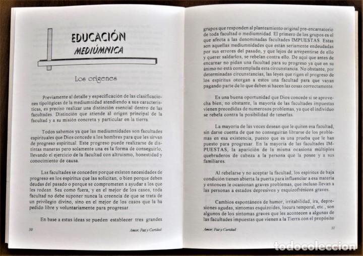 Libros de segunda mano: LOTE 91 BOLETINES AMOR, PAZ Y CARIDAD ASOCIACIÓN PARASICOLÓGICA DE VILLENA (ALICANTE) DE 1989 A 2001 - Foto 11 - 207128316