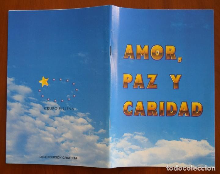 Libros de segunda mano: LOTE 91 BOLETINES AMOR, PAZ Y CARIDAD ASOCIACIÓN PARASICOLÓGICA DE VILLENA (ALICANTE) DE 1989 A 2001 - Foto 12 - 207128316