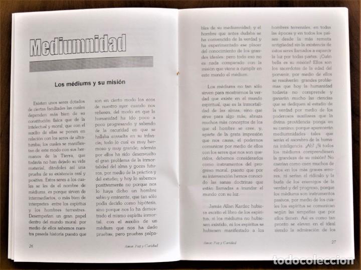 Libros de segunda mano: LOTE 91 BOLETINES AMOR, PAZ Y CARIDAD ASOCIACIÓN PARASICOLÓGICA DE VILLENA (ALICANTE) DE 1989 A 2001 - Foto 14 - 207128316