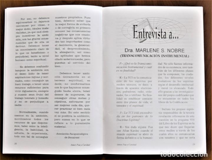Libros de segunda mano: LOTE 91 BOLETINES AMOR, PAZ Y CARIDAD ASOCIACIÓN PARASICOLÓGICA DE VILLENA (ALICANTE) DE 1989 A 2001 - Foto 15 - 207128316