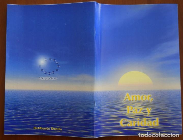 Libros de segunda mano: LOTE 91 BOLETINES AMOR, PAZ Y CARIDAD ASOCIACIÓN PARASICOLÓGICA DE VILLENA (ALICANTE) DE 1989 A 2001 - Foto 16 - 207128316