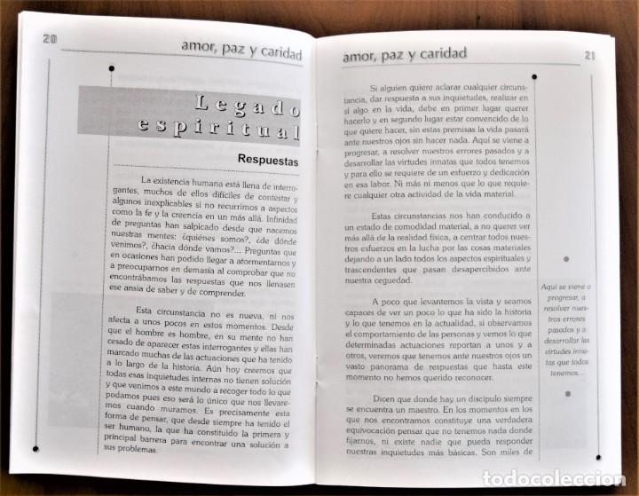 Libros de segunda mano: LOTE 91 BOLETINES AMOR, PAZ Y CARIDAD ASOCIACIÓN PARASICOLÓGICA DE VILLENA (ALICANTE) DE 1989 A 2001 - Foto 18 - 207128316