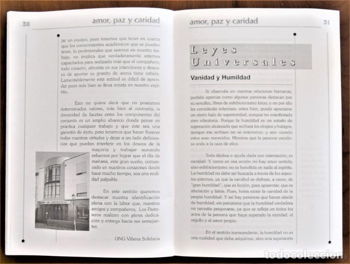 Libros de segunda mano: LOTE 91 BOLETINES AMOR, PAZ Y CARIDAD ASOCIACIÓN PARASICOLÓGICA DE VILLENA (ALICANTE) DE 1989 A 2001 - Foto 19 - 207128316