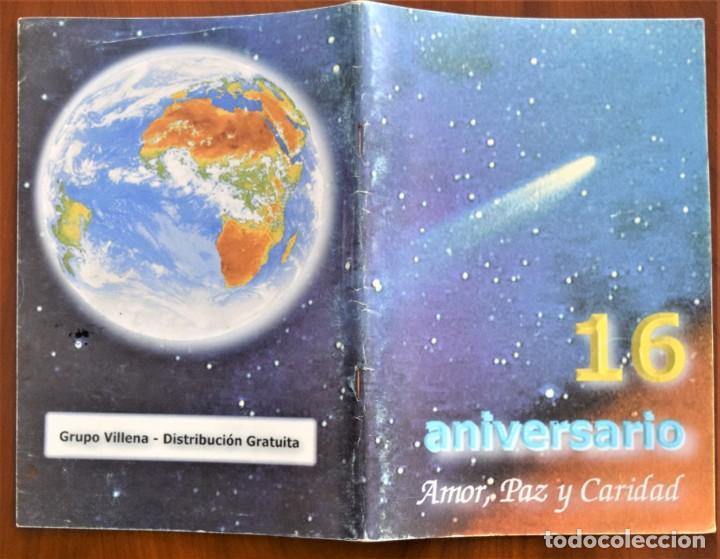 Libros de segunda mano: LOTE 91 BOLETINES AMOR, PAZ Y CARIDAD ASOCIACIÓN PARASICOLÓGICA DE VILLENA (ALICANTE) DE 1989 A 2001 - Foto 20 - 207128316