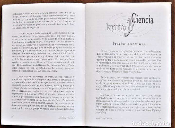 Libros de segunda mano: LOTE 91 BOLETINES AMOR, PAZ Y CARIDAD ASOCIACIÓN PARASICOLÓGICA DE VILLENA (ALICANTE) DE 1989 A 2001 - Foto 22 - 207128316