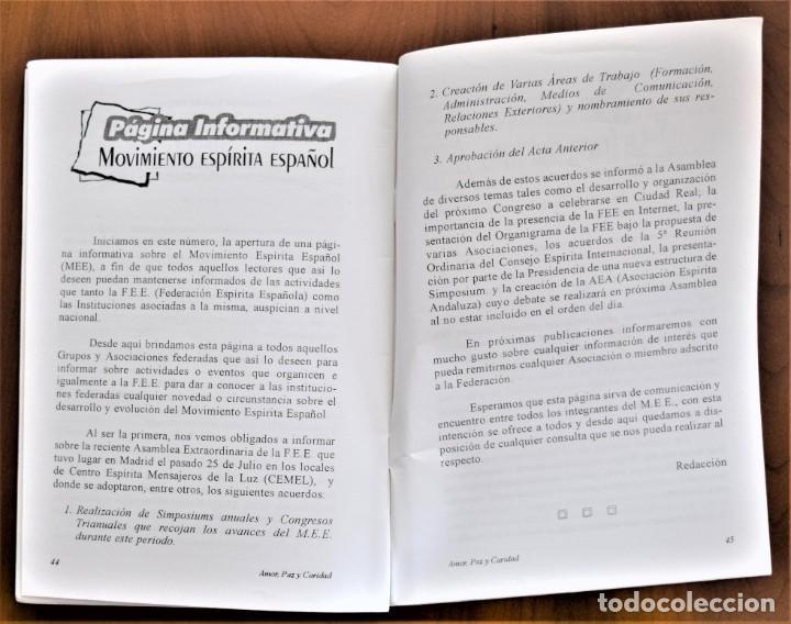 Libros de segunda mano: LOTE 91 BOLETINES AMOR, PAZ Y CARIDAD ASOCIACIÓN PARASICOLÓGICA DE VILLENA (ALICANTE) DE 1989 A 2001 - Foto 23 - 207128316