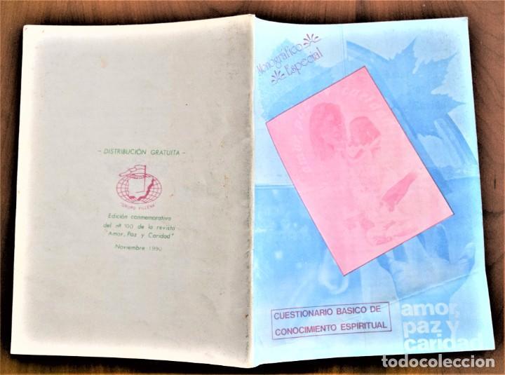 Libros de segunda mano: LOTE 91 BOLETINES AMOR, PAZ Y CARIDAD ASOCIACIÓN PARASICOLÓGICA DE VILLENA (ALICANTE) DE 1989 A 2001 - Foto 24 - 207128316
