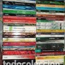 Libros de segunda mano: AVENTURAS. COLECCIÓN EL PAIS. 50 LIBROS. Lote 207132155