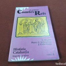Libros de segunda mano: ELS PRIMERS COMTES REIS - HISTÒRIA DE CATALUNYA BIOGRAFIES CATALANES VOLUM 4 - EL OBSERVADOR - HCB. Lote 207169665