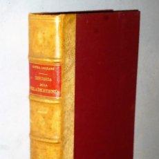 Libros de segunda mano: HISTORIA DE LA VILLA DE ATIENZA. Lote 207179190
