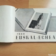 Libros de segunda mano: EUSKAL ECHEA 1949. ANUARIO.. Lote 207199608