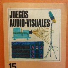 Libri di seconda mano: JUEGOS AUDIOVISUALES. 100 IDEAS. EDITORIAL VILAMALA. Lote 207210255