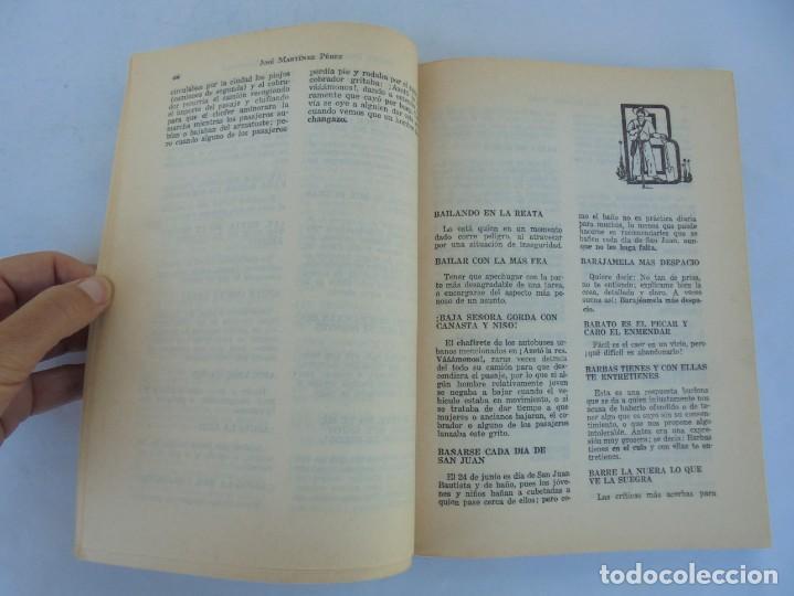 Libros de segunda mano: DICHOS, DICHARACHOS Y REFRANES MEXICANOS. JOSE MARTINEZ PEREZ. EDITORES MEXICANOS UNIDOS 1977 - Foto 10 - 207217302