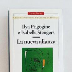 Libros de segunda mano: LA NUEVA ALIANZA. ILYA PRIGOGINE E ISABELLE STENGERS. OPERA MUNDI. Lote 207230477