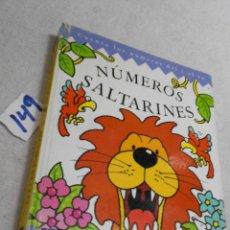 Libros de segunda mano: NUMEROS SALTARINES - CUENTA LOS NUMEROS DEL 1 AL 10. Lote 207237550
