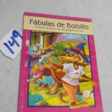 Libros de segunda mano: FABULAS DE BOLSILLO. Lote 207237598