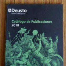 Libros de segunda mano: CATALOGO DE PUBLICACIONES UNIVERSIDAD DE DEUSTO. Lote 207248791