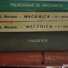 Libros de segunda mano: LOTE LIBROS DE MECÁNICA ANOS 60. Lote 207312733