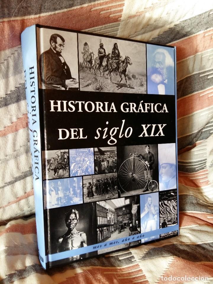 Libros de segunda mano: Historia grafica del siglo XIX. Edimat Libros - Foto 2 - 207358698
