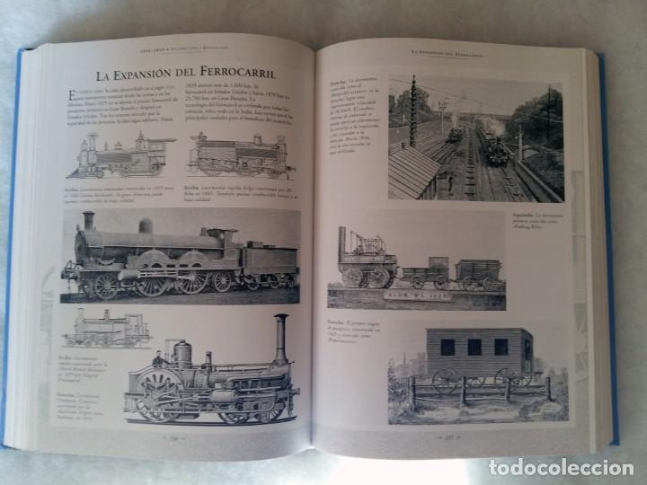 Libros de segunda mano: Historia grafica del siglo XIX. Edimat Libros - Foto 4 - 207358698