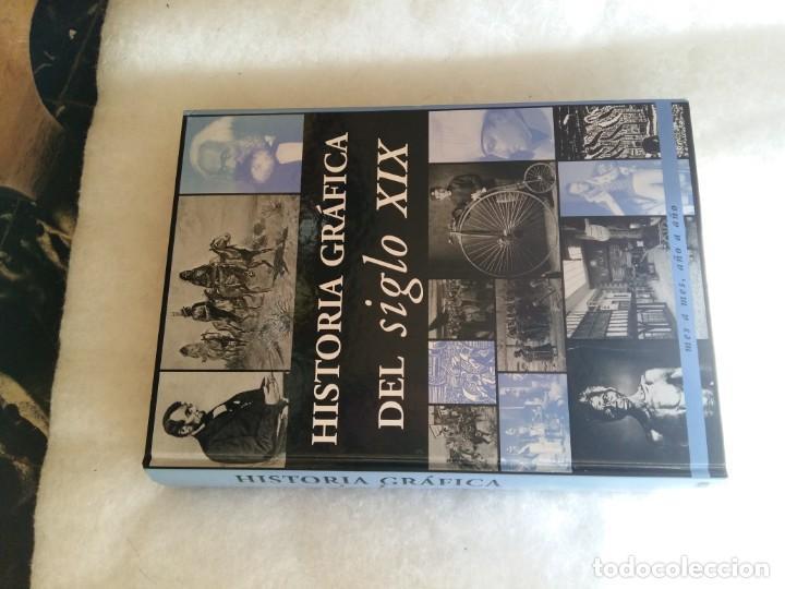 Libros de segunda mano: Historia grafica del siglo XIX. Edimat Libros - Foto 7 - 207358698