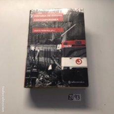 Libros de segunda mano: HISTORIA DE ESPAÑA CONTEMPORÁNEA. Lote 207445373