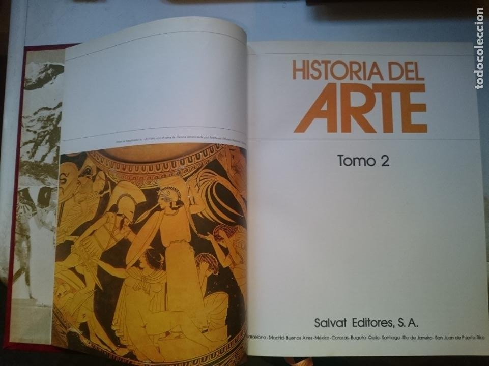 HISTORIA DEL ARTE - TOMO 2 -VER FOTOS (Libros de Segunda Mano - Bellas artes, ocio y coleccionismo - Otros)