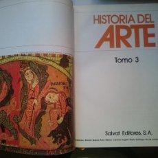 Libros de segunda mano: HISTORIA DEL ARTE - TOMO 3 -VER FOTOS. Lote 207452300