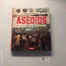 Libros de segunda mano: GRANDES ASEDIOS EN LA HISTORIA DE ESPAÑA. Lote 207500341