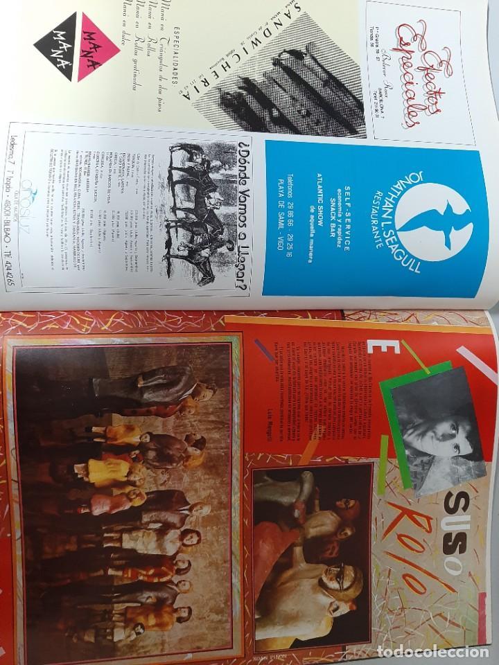 Libros de segunda mano: TINTIMAN Nº 2, REVISTA DE CULTO DE VIGO, FANZINE-MOVIDA-GRAFFITI- DISEÑO-ART-COMIC, 1984 - Foto 4 - 207522718
